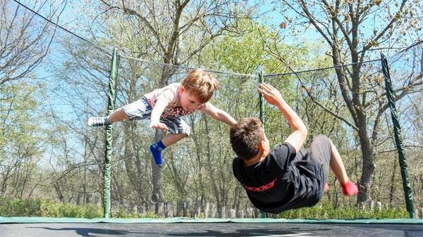 trampolino outodoor